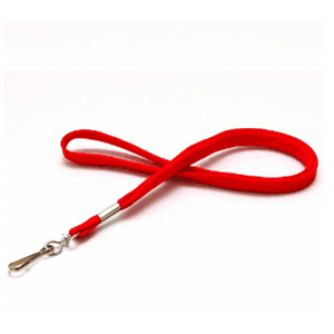 Lanyard Rond Rood