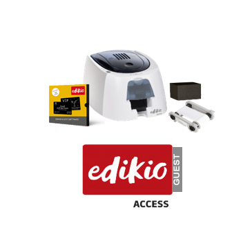 Edikio Access Guest Cardprinter Bundel