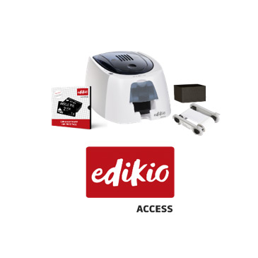 Edikio Access Cardprinter Bundel